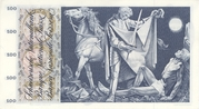 100 Francs (5th series) – reverse