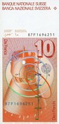 10 Francs (6th series) – reverse