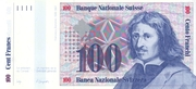 100 Francs (7th series, reserve banknote) – obverse