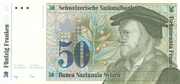 50 Francs (7th series, reserve banknote) – obverse