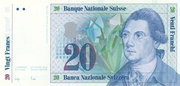20 Francs (7th series, reserve banknote) – obverse