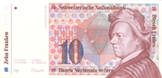 10 Francs (7th series, reserve banknote) – obverse