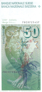 50 Francs (6th series) – reverse