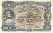 100 Francs (3rd series) – obverse