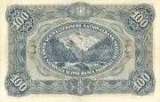 100 Francs (3rd series) – reverse