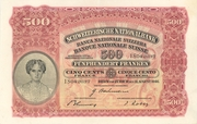 500 Francs (2nd series, type 3) – obverse