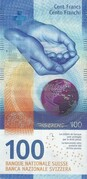 100 Francs (9th series) – obverse