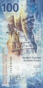 100 Francs (9th series) – reverse
