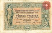 50 Francs (1st series) – obverse