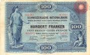 100 Francs (1st series) – obverse