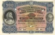 100 Francs (3rd series, reserve banknote) – obverse