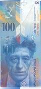 100 Francs (8th series) – obverse