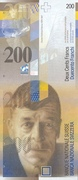 200 Francs (8th series) – obverse