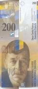 200 Francs (8th series) – obverse