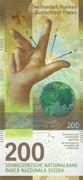 200 Francs (9th series) – obverse