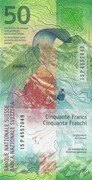 50 Francs (9th series) – reverse