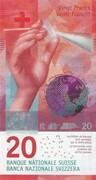 20 Francs (9th series) – obverse
