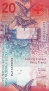 20 Francs (9th series) – reverse