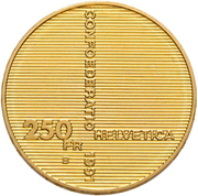 250 Francs (Swiss Confederation) -  obverse