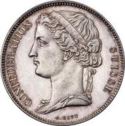 5 Francs (Pattern; silver) – obverse