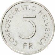 5 Francs (Battle of Murten) -  obverse