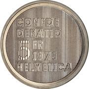 5 Francs (Albert Einstein) -  obverse