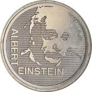 5 Francs (Albert Einstein) -  reverse
