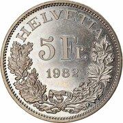 5 Francs (Gotthard Railway) -  obverse