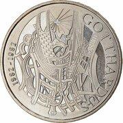 5 Francs (Gotthard Railway) -  reverse