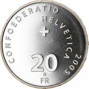 20 Francs (Geneva Motor Show) -  obverse