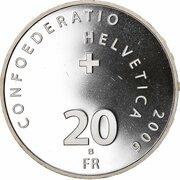 20 Francs (Federal Palace) -  obverse