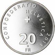 20 Francs (Patrouille Suisse) -  obverse
