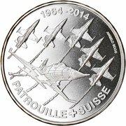 20 Francs (Patrouille Suisse) -  reverse