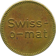 Token - Swiss-o-mat (small letters) – obverse
