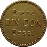 Cafe Token - Din Don (Basel) – reverse