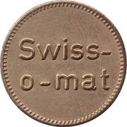 Token - Swiss-o-mat (large letters) – obverse