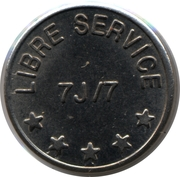 Car Wash Token - Lavage Auto – obverse