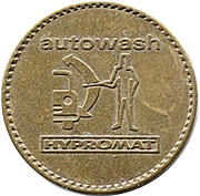 Car Wash Token - Autowash Hypromat (32 mm) – obverse