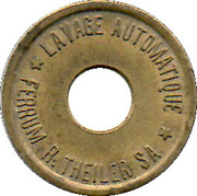 Car Wash Token - Ferrum R. Theiler SA – obverse