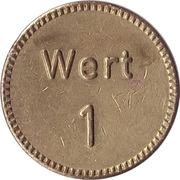 Car Wash Token - Autocenter unteres Aaretal – reverse