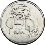 Car Wash Token - Delli's – obverse