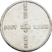 Car Wash Token - Delli's – reverse