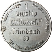1 Unichip - Uniwash (Trimbach SO) – obverse