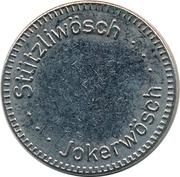 Car Wash Token - Stützliwösch Jokerwösch – obverse