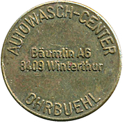 Car Wash Token - Autowash-Center Ohrbuehl (Winterthur) – obverse