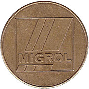 Car Wash Token - Migrol (Wilderswil-Interlaken) – obverse