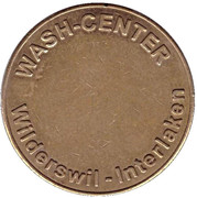 Car Wash Token - Migrol (Wilderswil-Interlaken) – reverse
