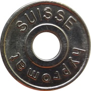 Car Wash Token - Hypromat (CH 588) – obverse