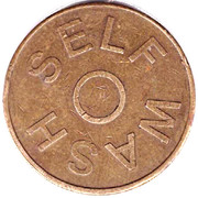 Car Wash Token - Self Wash – obverse