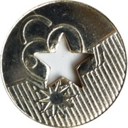 Car Wash Token - CH 698 (Lausanne) – reverse